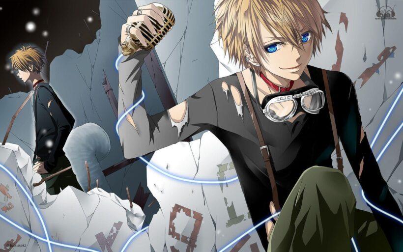 Hình ảnh anime cá tính mạnh mẽ