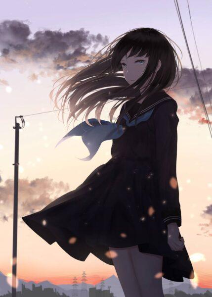 Tổng hợp các hình nền Anime về tình yêu buồn, cô đơn