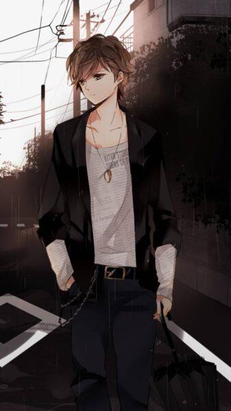 Hình ảnh anime cô đơn tâm trạng