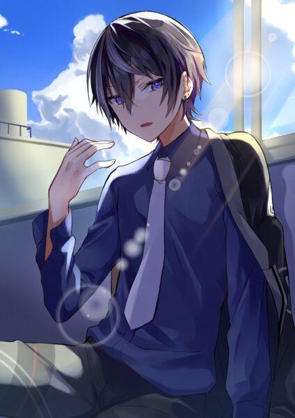Hình ảnh anime cute boy
