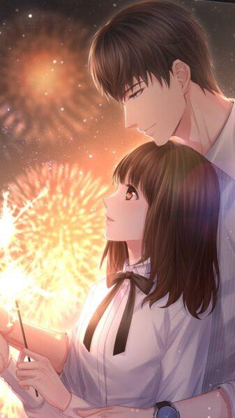 Hình ảnh Anime đôi ấm áp