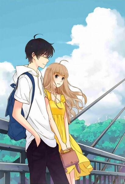 Hình ảnh Anime đôi dịu dàng