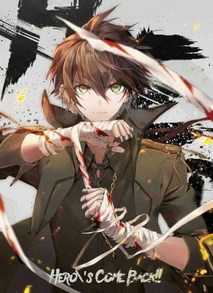 Hình ảnh Anime lạnh lùng của chiến binh