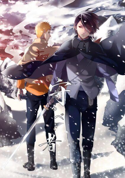 Hình ảnh Anime lạnh lùng của Naruto và Sasuke