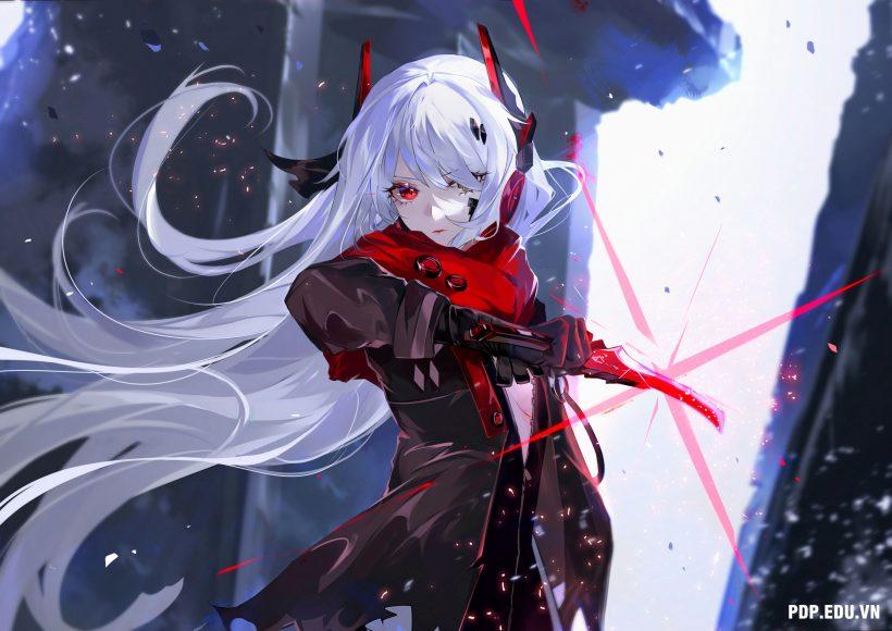 hình ảnh anime nữ ngầu lạnh lùng