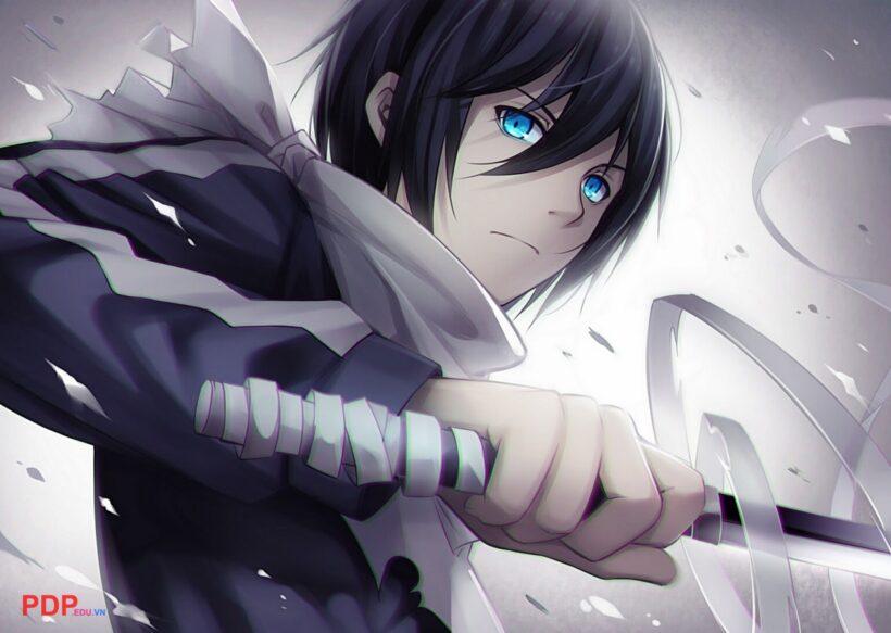 Hình ảnh anime tóc đen