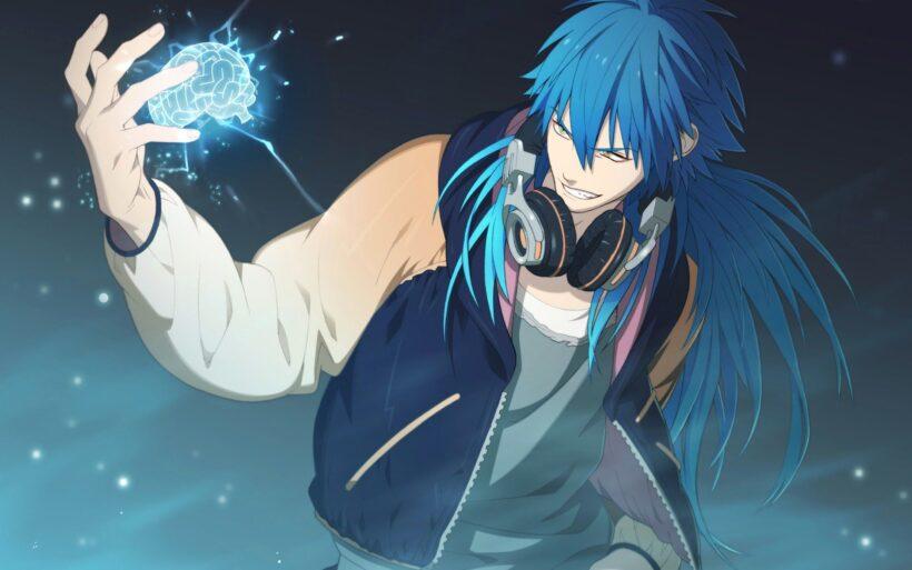 Hình ảnh anime tóc xanh boy nguy hiểm