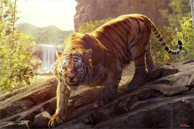 Hình ảnh nền con hổ đẹp nhất