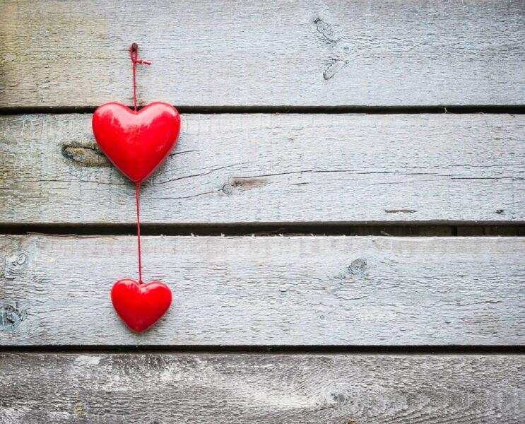 Hình ảnh màu trái tim