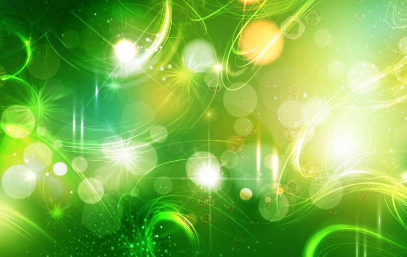 Hình ảnh Powerpoint màu xanh lá cây
