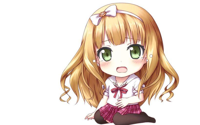 Hình anime chibi cute