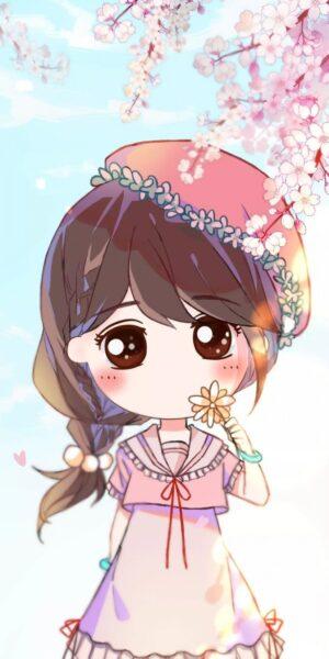 Hình anime chibi nữ cute
