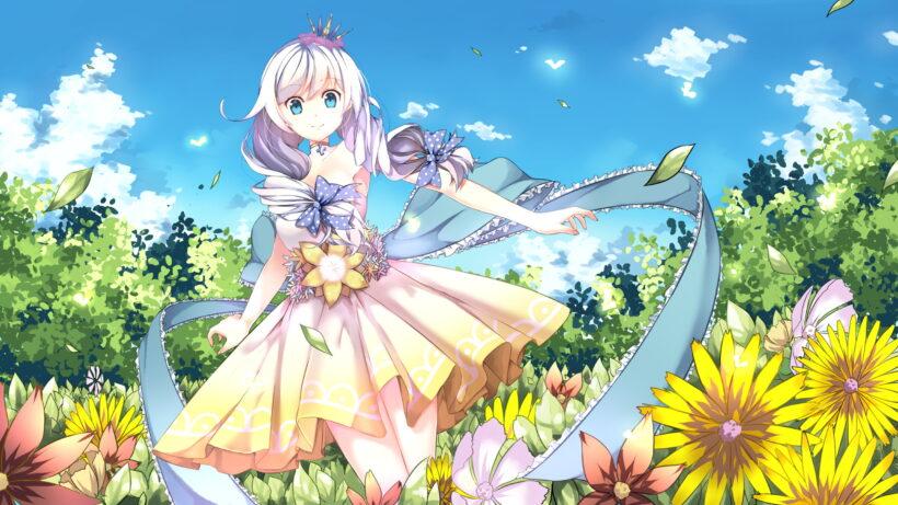 Hình nền anime cute cho máy tính