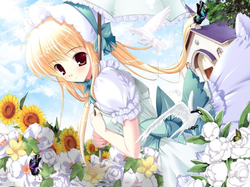Hình nền anime cute, dễ thương cho máy tính