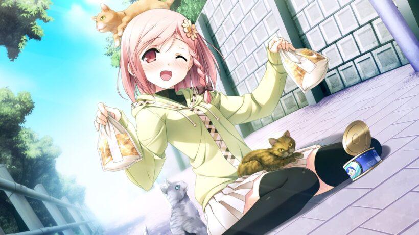 Hình nền anime cute nữ đẹp