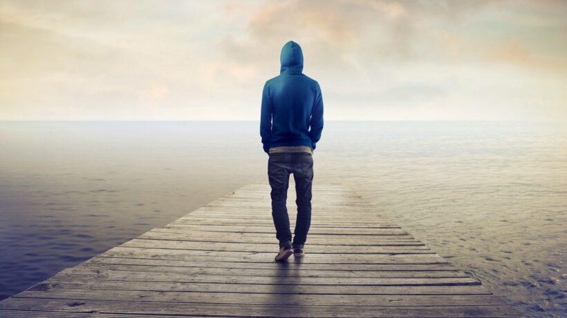 Hình nền cô đơn cho zalo đẹp