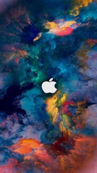 hình nền ip6 dải màu đẹp nghệ thuật