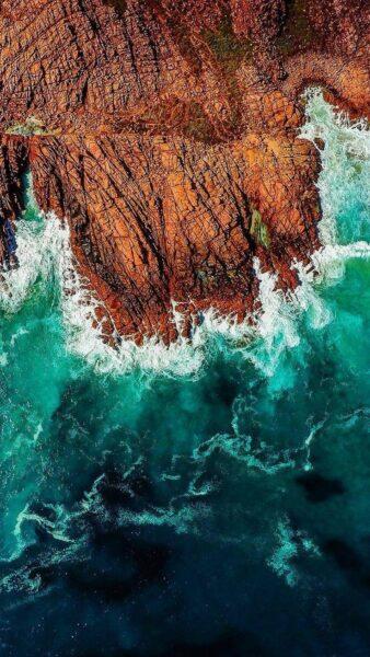 hình nền iphone 6 và 6s sóng biển