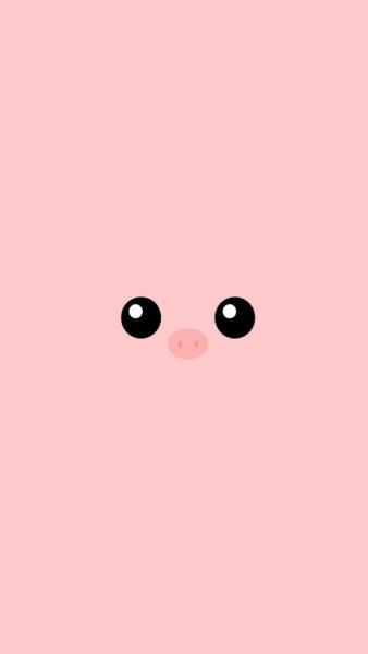 Hình nền màu hồng cam dễ thương, cực đẹp cho điện thoại