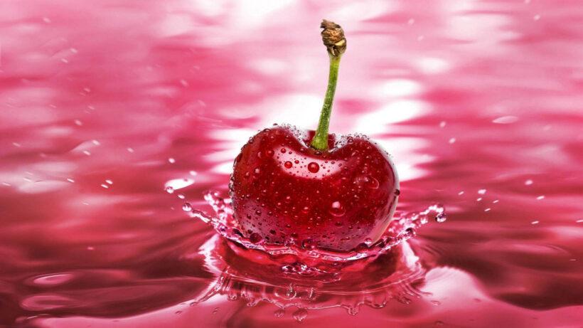 Hình nền màu hồng đậm dễ thương