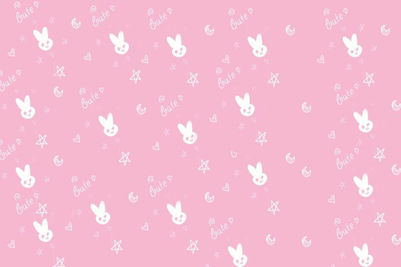 Hình nền màu hồng dễ thương, cute