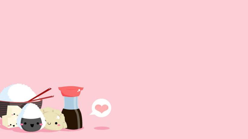 hình nền máy tính chibi cute dễ thương