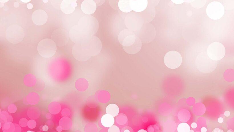 Hình nền máy tính dễ thương màu hồng