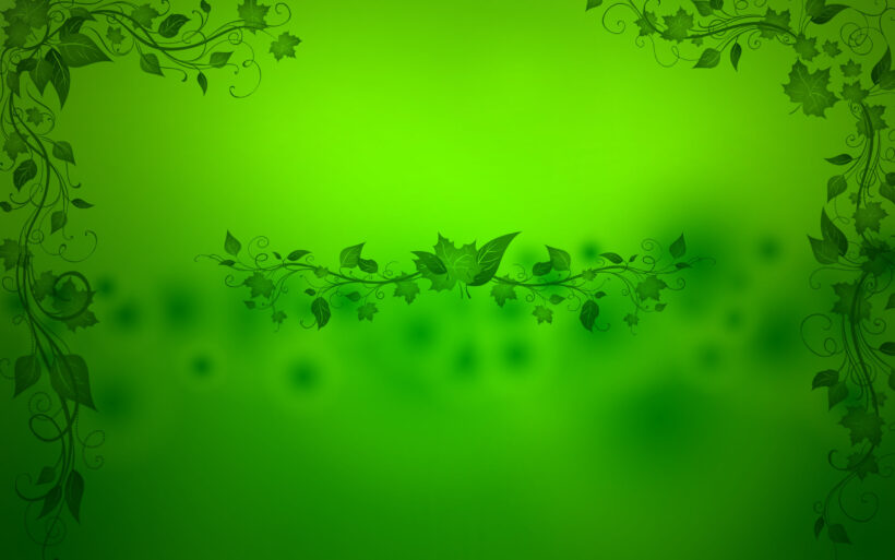 Hình nền Powerpoint đẹp màu xanh lá cây