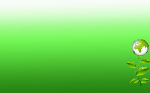 Hình nền Powerpoint màu xanh lá cây
