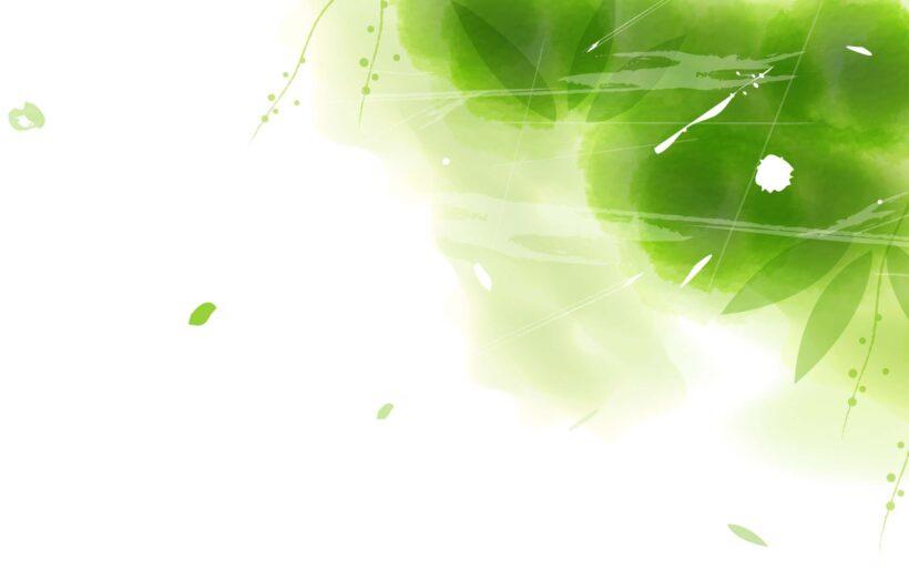 Hình nền Powerpoint màu xanh lá cây đẹp