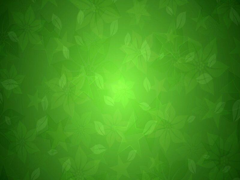 Hình nền Powerpoint màu xanh lá cây đẹp, dễ thương