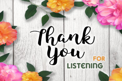 Hình nền ppt thank you for listening