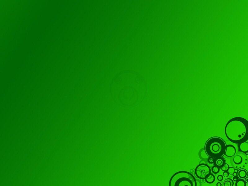 Hình nền slide màu xanh lá cây