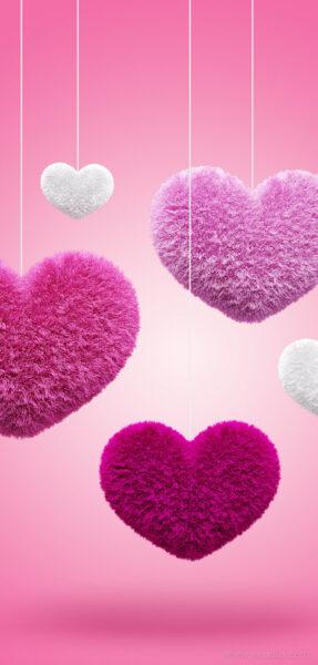 Hình nền trái tim cho điện thoại