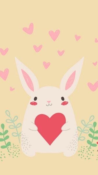 Hình nền trái tim dễ thương cho điện thoại