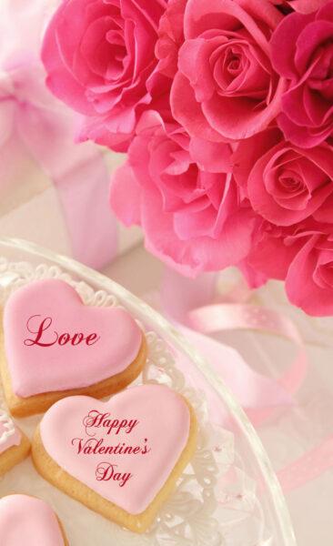 Hình nền trái tim lãng mạn cho máy tính