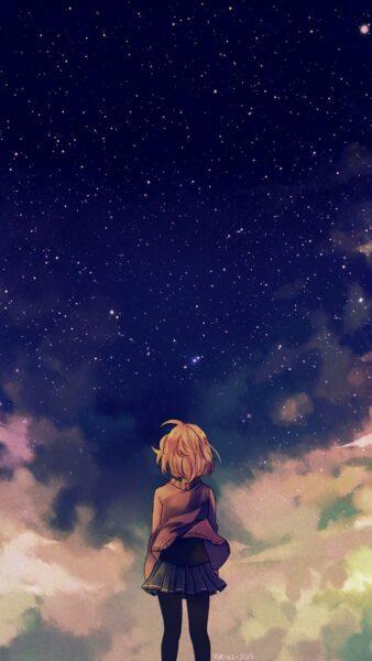 Hình nền zalo đẹp, anime cô đơn
