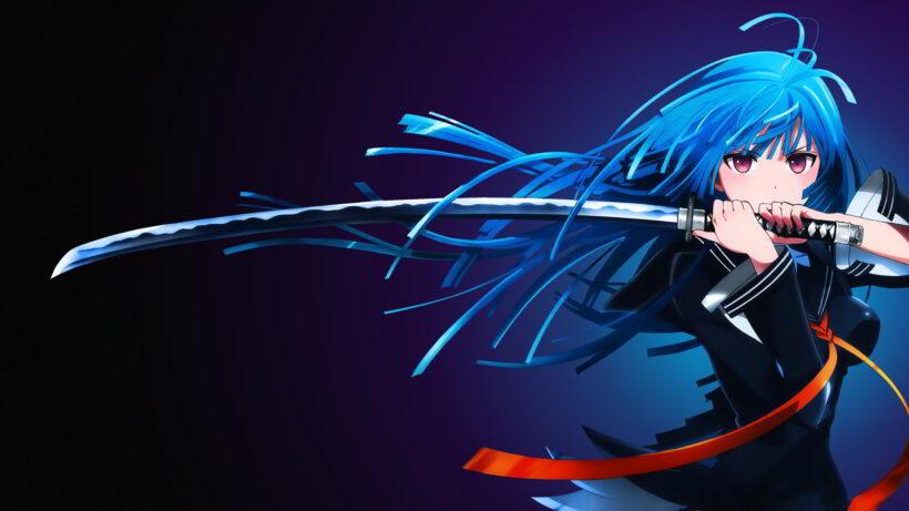 Hình nền zalo đẹp, girl anime cá tính