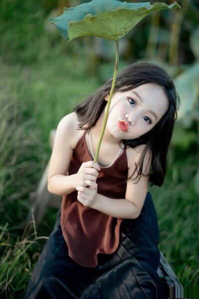 Ảnh avatar dễ thương cho con gái