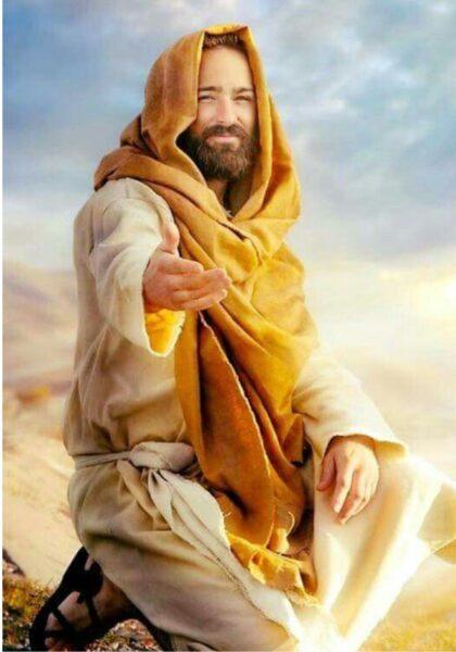 Ảnh chúa Giesu mỉm cười