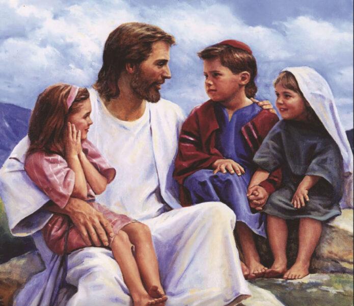 Ảnh chúa Giesu và những em nhỏ