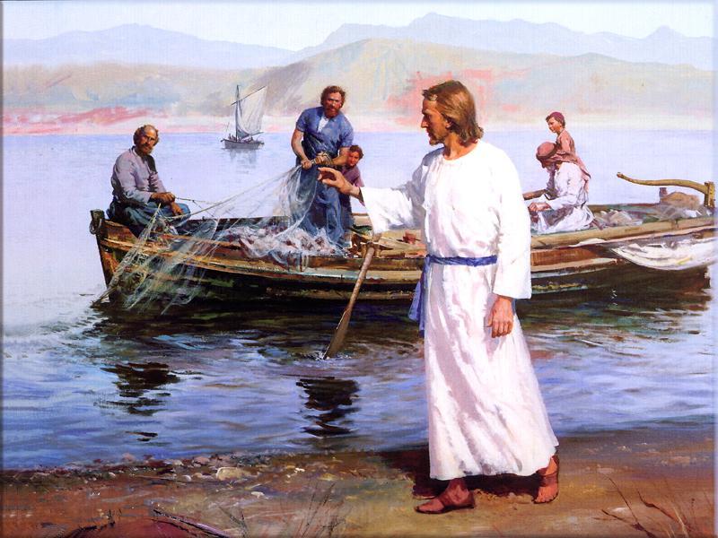 Ảnh chúa Giesu và những người đánh cá