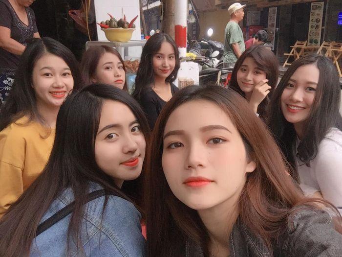 ảnh chụp nhóm nữ bạn thân 9x toàn girl xinh