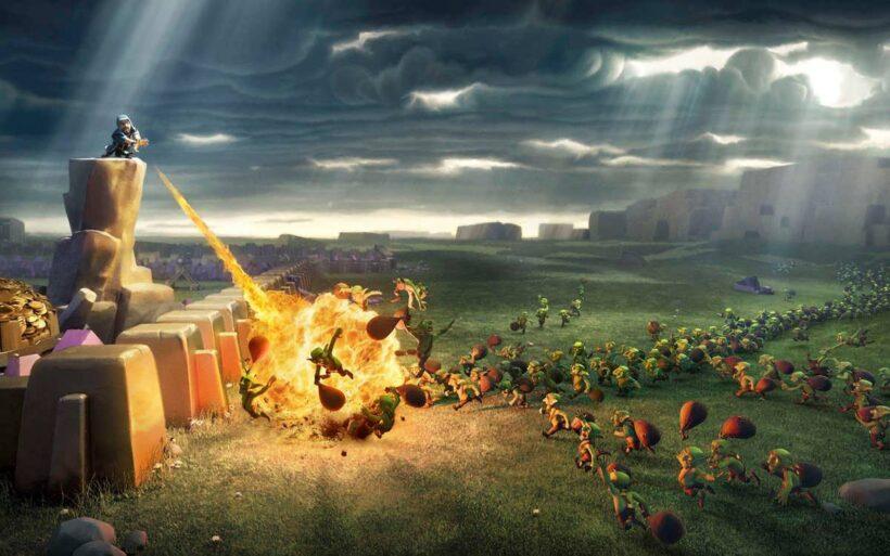 Ảnh Clash Of Clans chiến tranh