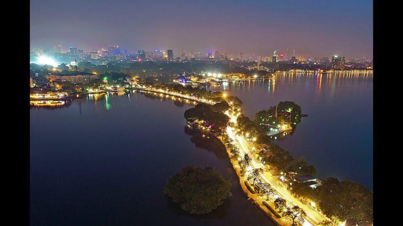 Ảnh con đường Thanh Niên Hà Nội