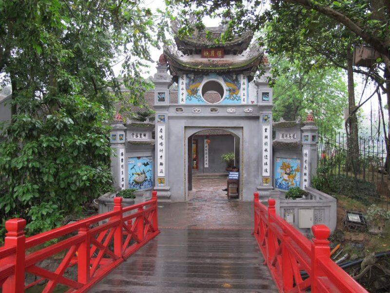 Ảnh Hà Nội đền Ngọc Sơn