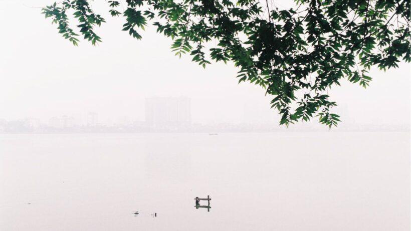 Ảnh Hà Nội trời sương mù