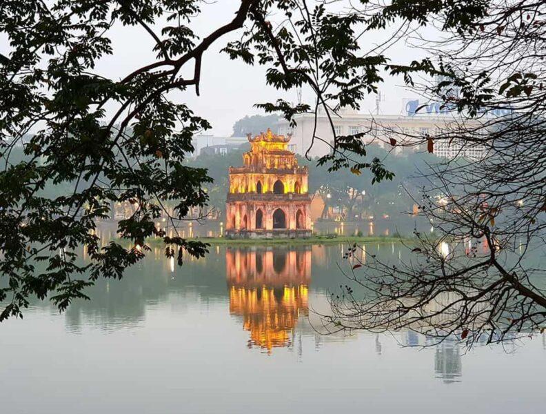 Ảnh Hồ Gươm Hà Nội đẹp