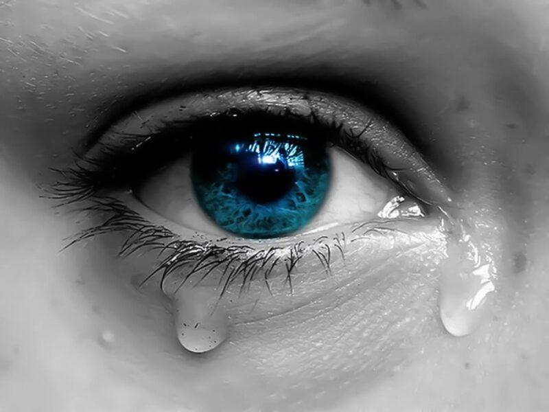 Ảnh nước mắt chảy