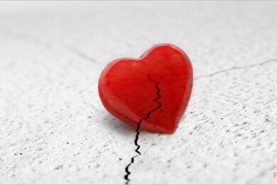 Ảnh trái tim buồn